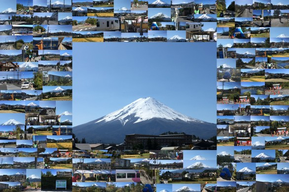 第27回目 富士河口湖もみじマーチ 第一日目 富士山登山道・忍野八海コース 10月21日日曜日