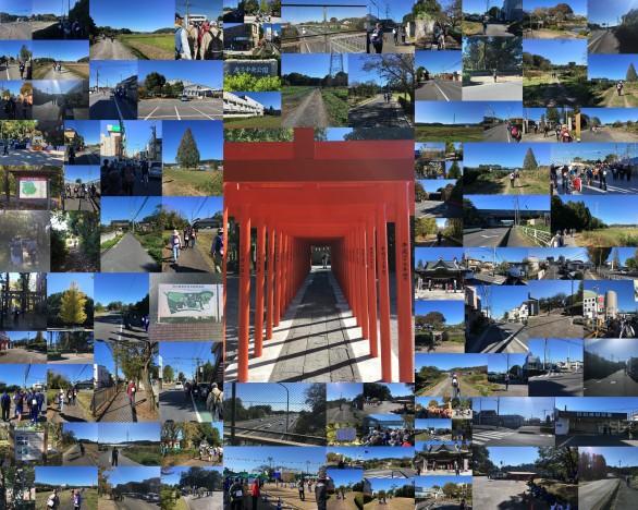 第41回日本スリーデーマーチ 1日目 11/2金曜日 和紙の里・武蔵嵐山ルート20㎞