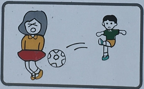 野球・サッカー・ゴルフの練習は禁止します。