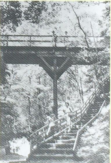 昭和30年代のゴルフ橋