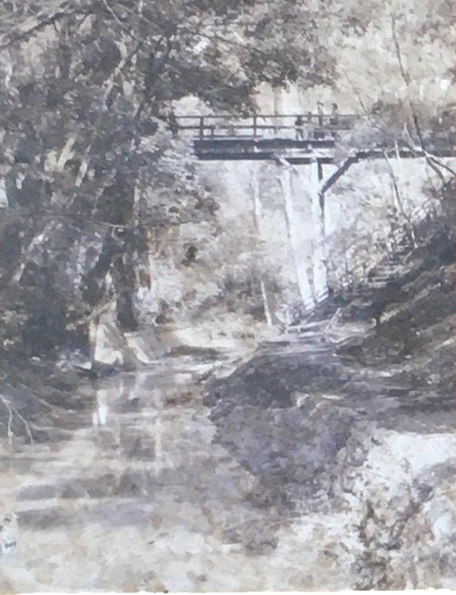 昭和33年頃のゴルフ橋