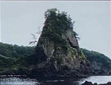 展望園地(南側)鷹の巣岩
