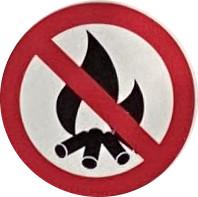 園内では火の使用(花火・バーベキューなど)はできません